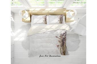 3D Light Yellow Marble Quilt Cover Set Bedding Set Pillowcases 43-Single