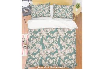 3D Grey Pattern Quilt Cover Set Bedding Set Pillowcases 143-Single
