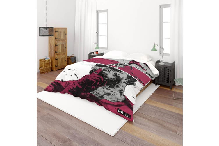 3D Color Portrait Quilt Cover Set Bedding Set Pillowcases  52-Single