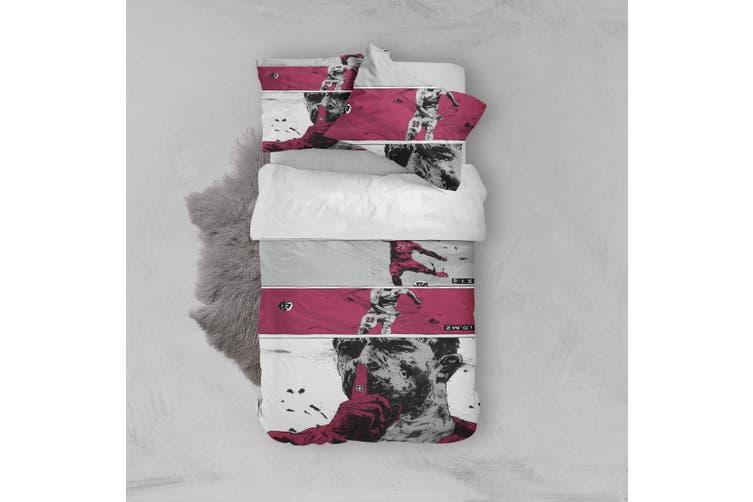 3D Color Portrait Quilt Cover Set Bedding Set Pillowcases  52-Queen