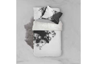 3D Pine Branches Quilt Cover Set Bedding Set Pillowcases 49-Single
