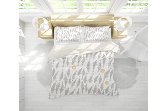 3D Fish Pattern Quilt Cover Set Bedding Set Pillowcases  1-Queen