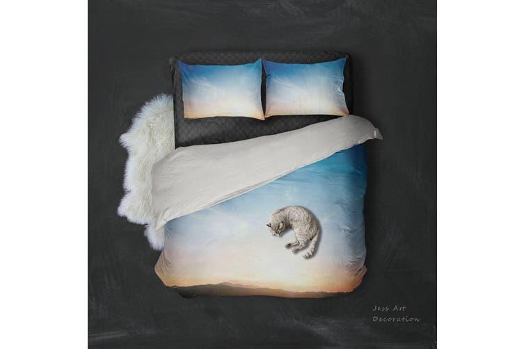 3D Sunset Sky Quilt Cover Set Bedding Set Pillowcases 101-Double