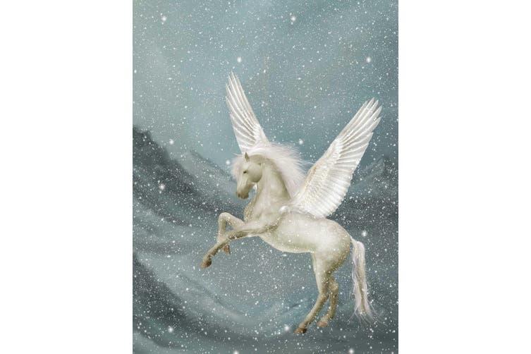 3D Pegasus Mountains Snow Quilt Cover Set Bedding Set Pillowcases 14-Queen