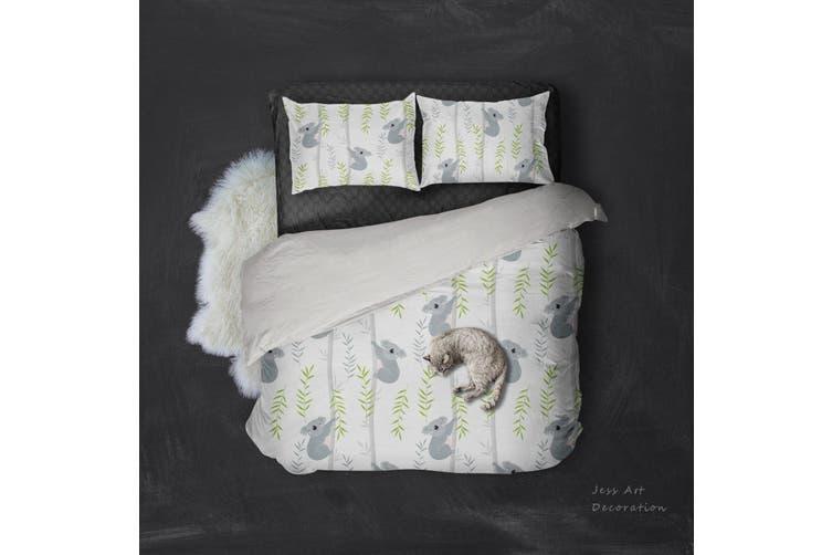 3D Koalas Pattern Quilt Cover Set Bedding Set Pillowcases  106-Double