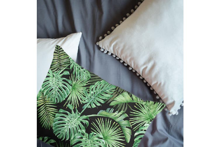 3D Green Tropical Palm Tree Quilt Cover Set Bedding Set Pillowcases  90-Double