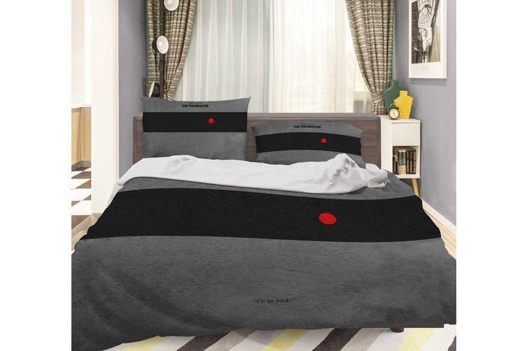 3D The Terminator Quilt Cover Set Bedding Set Pillowcases 146-Single
