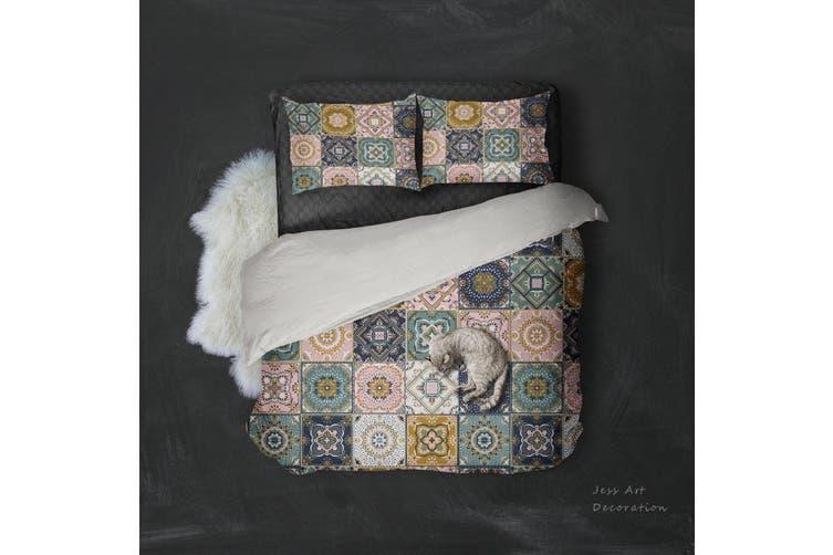 3D Plaid Color Pattern Quilt Cover Set Bedding Set Pillowcases  10-Queen