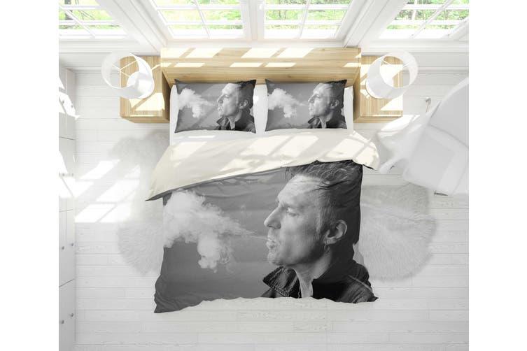 3D John Waite Quilt Cover Set Bedding Set Pillowcases 17-Double