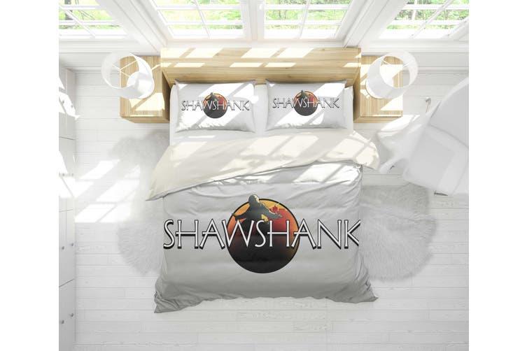 3D The Shawshank Redemption Quilt Cover Set Bedding Set Pillowcases 121-Queen