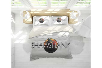 3D The Shawshank Redemption Quilt Cover Set Bedding Set Pillowcases 121-King
