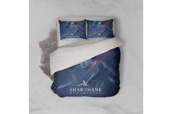 3D The Shawshank Redemption Quilt Cover Set Bedding Set Pillowcases 120-King