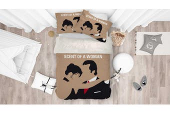 3D Scent of a Woman Quilt Cover Set Bedding Set Pillowcases 117-Queen