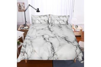 3D Marble texture  Quilt Cover Set Bedding Set Pillowcases-Double
