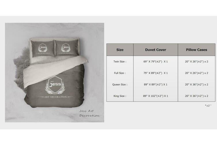 3D Black Motor Motorcycle  Quilt Cover Set Bedding Set Pillowcases-Single