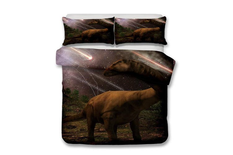 3D Stars  Dinosaur  Quilt Cover Set Bedding Set Pillowcases-Single
