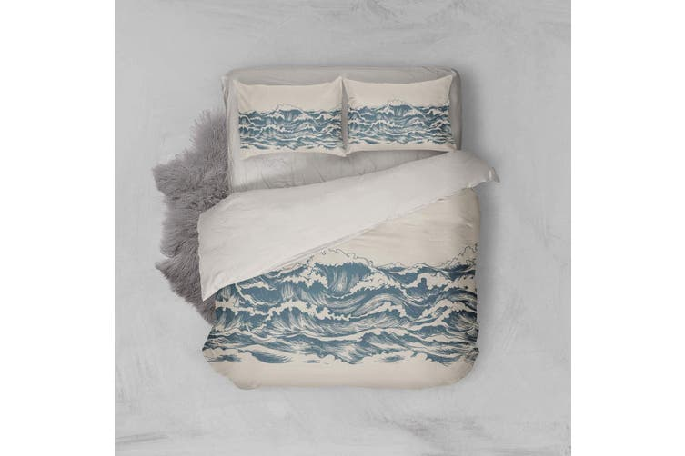 3D Hand-painted  Spray  Quilt Cover Set Bedding Set Pillowcases-Queen