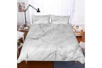 3D Minimalist style  Marble texture Set Quilt Cover Quilt Duvet Cover  Pillowcases JAD 5 Personalized  Bedding        -Queen