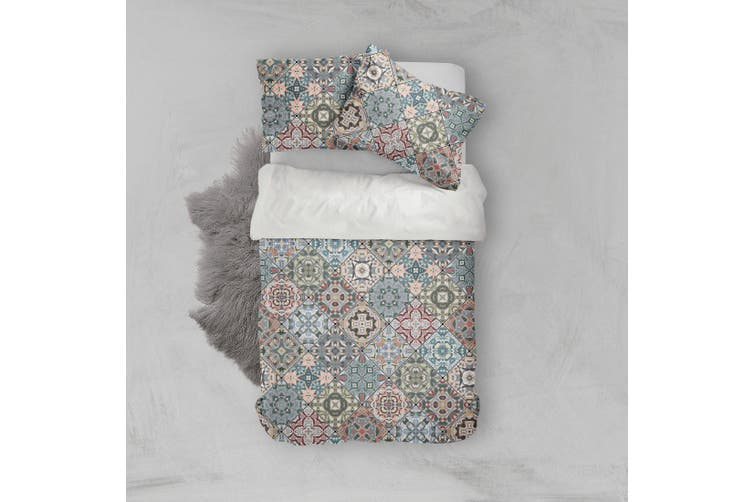 3D National pattern Bedding Set Quilt Cover Quilt Duvet Cover Pillowcases Personalized  Bedding       -Single