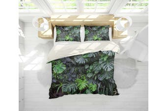 3D Tropical plant Bedding JAD 7 Set Quilt Cover Quilt Duvet Cover Pillowcases Personalized  Bedding JAD 7       -Queen