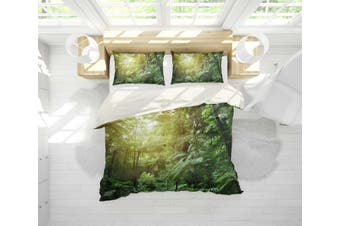 3D Sunshine  Forest Bedding JAD 7 Set Quilt Cover Quilt Duvet Cover Pillowcases Personalized  Bedding JAD 7       -Queen