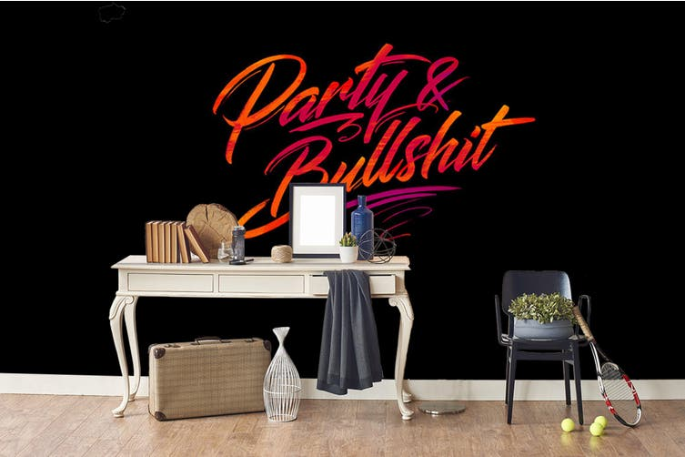 3d abstract letter pattern wall mural wallpaper 277 Preminum Non-Woven Paper-W: 420cm X H: 260cm