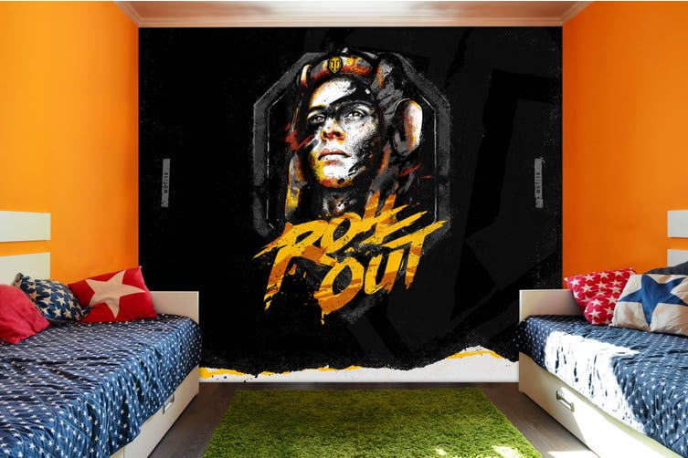 3d head sculpture photo wall mural wallpaper 258 Preminum Non-Woven Paper-W: 320cm X H: 225cm