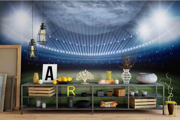 3d soccer football stadium wall mural wallpaper 192 Preminum Non-Woven Paper-W: 525cm X H: 295cm