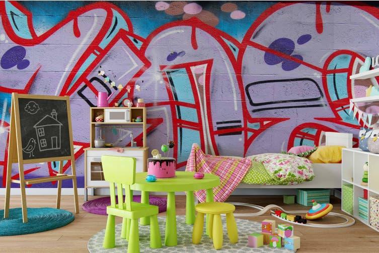 3d abstract slogan graffiti wall mural wallpaper 226 Preminum Non-Woven Paper-W: 525cm X H: 295cm