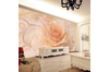 3D Pink Abstract Rose Wall Mural Wallpaper 177 Preminum Non-Woven Paper - W: 210cm X H: 146cm
