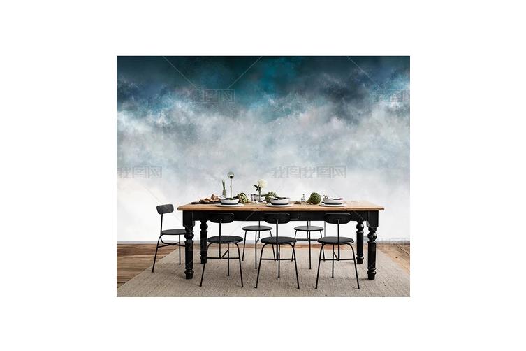 3D Abstract Fog Wall Mural Wallpaper 129 Preminum Non-Woven Paper - W: 210cm X H: 146cm