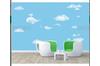 3D Blue Whale Clouds Wall Mural Wallpaper 479 Preminum Non-Woven Paper - W: 525cm X H: 295cm