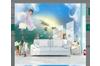 3D Nordic Style Spirit Wall Mural Wallpaper 415 Preminum Non-Woven Paper - W: 210cm X H: 146cm