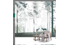 3D Nordic Style Forest Reindeer Wall Mural Wallpaper 413 Preminum Non-Woven Paper - W: 525cm X H: 295cm