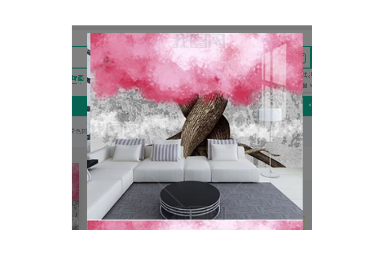3D Nordic Style Abstract Flowers Wall Mural Wallpaper 409 Preminum Non-Woven Paper - W: 210cm X H: 146cm