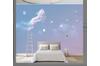 3D Nordic Style Horses Wall Mural Wallpaper 407 Preminum Non-Woven Paper - W: 210cm X H: 146cm