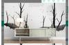 3D Tree Trunk Wall Mural Wallpaper 470 Preminum Non-Woven Paper - W: 420cm X H: 260cm