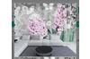 3D Nordic Style Flowers Wall Mural Wallpaper 399 Preminum Non-Woven Paper - W: 210cm X H: 146cm