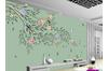 3D Hand Painting Floral Birds Wall Mural Wallpaper 167 Preminum Non-Woven Paper - W: 320cm X H: 225cm