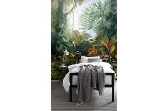 3D tropical plants flower background wall mural wallpaper 26 Self-adhesive Laminated Vinyl