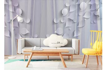 3D Abstract Geometry Graphical Wall Mural Wallpaper  D93 Self-adhesive Laminated Vinyl-W: 420cm X H: 260cm