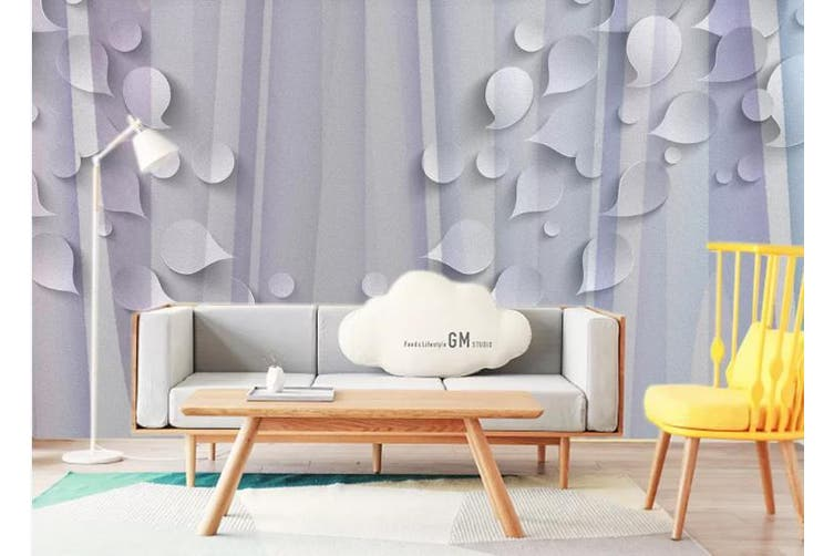 3D Abstract Geometry Graphical Wall Mural Wallpaper  D93 Self-adhesive Laminated Vinyl-W: 525cm X H: 295cm