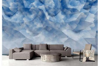 3D Solid Geometry Graphical Wall Mural Wallpaper  D82 Self-adhesive Laminated Vinyl-W: 320cm X H: 225cm