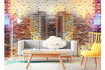 3D Glass Beads Effect Wall Mural Wallpaper  D74 Self-adhesive Laminated Vinyl-W: 320cm X H: 225cm