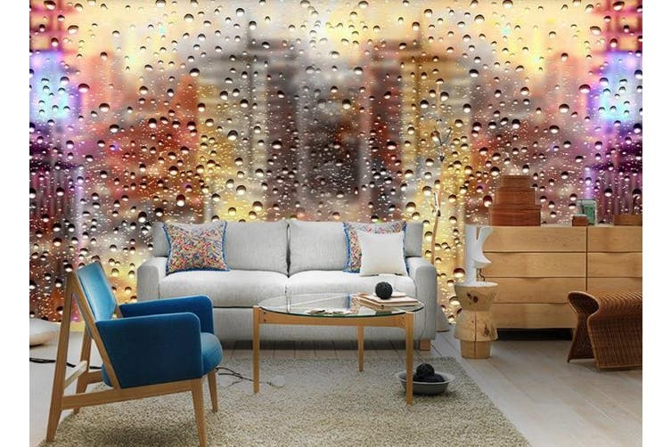 3D Glass Beads Effect Wall Mural Wallpaper  D74 Self-adhesive Laminated Vinyl-W: 420cm X H: 260cm