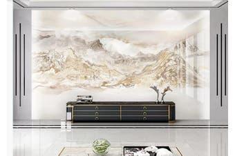 3D Marble Decorative Beautiful Floral Wall Mural Wallpaper  D70 Self-adhesive Laminated Vinyl-W: 320cm X H: 225cm