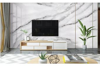 3D Marble Decorative Beautiful Floral Wall Mural Wallpaper  D67 Self-adhesive Laminated Vinyl-W: 320cm X H: 225cm