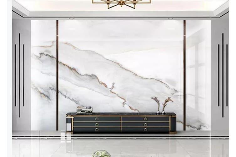 3D Marble Decorative Beautiful Floral Wall Mural Wallpaper  D65 Self-adhesive Laminated Vinyl-W: 320cm X H: 225cm