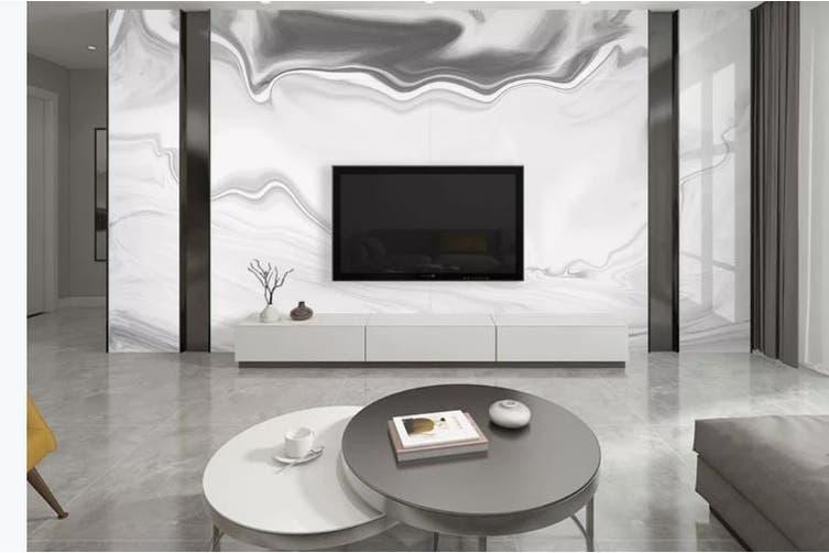 3D Marble Decorative Beautiful Floral Wall Mural Wallpaper  D63 Self-adhesive Laminated Vinyl-W: 320cm X H: 225cm