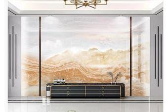 3D Marble Decorative Beautiful Floral Wall Mural Wallpaper  D62 Self-adhesive Laminated Vinyl-W: 420cm X H: 260cm